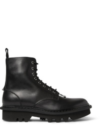 Neil Barrett Leather Lace Up Boots