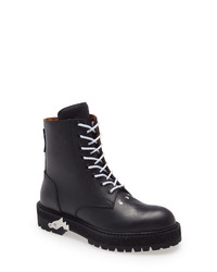 Off-White Logo Lace Up Boot