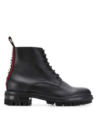 DSQUARED2 Logo Lace Up Boots