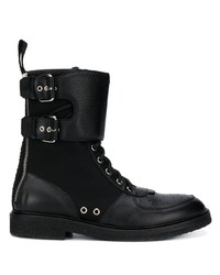 Balmain Ranger Bi Material Boots