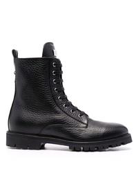 Philipp Plein Star Studded Leather Boots