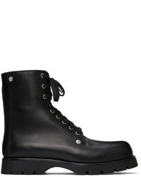 Jil Sander Studded Leather Half Boots