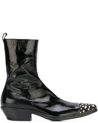 Haider Ackermann Toe Cap Detail Boots