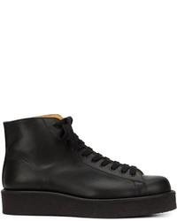 Yohji Yamamoto Lace Up Boots