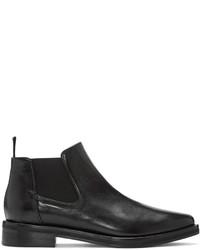 MCQ Alexander Ueen Black Chelsea Boots