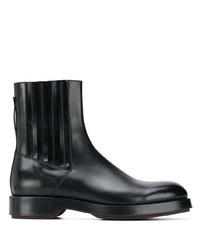 Ermenegildo Zegna Almond Toe Ankle Boots