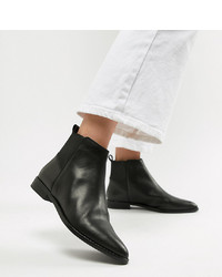 ASOS DESIGN Atom Leather Chelsea Boots Leather