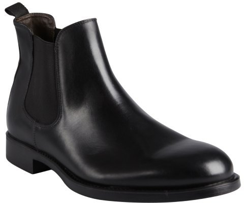 A.TESTONI Beatles Leather Chelsea Boots