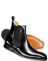 Charles Tyrwhitt Black Albert Chelsea Boots