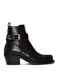 Versace Black Ankle Boots