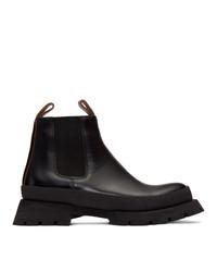 Jil Sander Black Boots