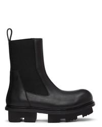 Rick Owens Black Bozo Megatooth Boots