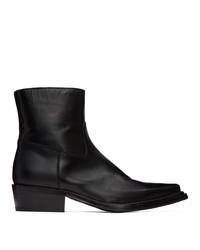 Acne Studios Black Bruno Boots