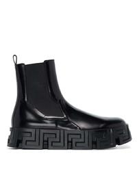 Versace Black Chelsea Boot