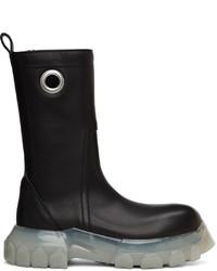 Rick Owens Black Creeper Bozo Tractor Boots
