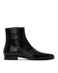 Givenchy Black Dallas Zip Up Boots