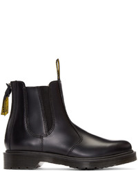Y's Black Dr Martens Edition Chelsea Boots
