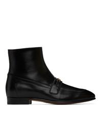 Gucci Black Dracma Boots