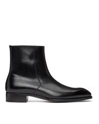 Tom Ford Black Elkan Boots