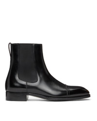 Tom Ford Black Elkan Chelsea Boots