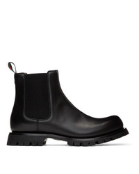 Gucci Black Epilogue Chelsea Boots