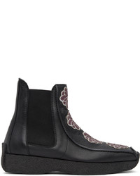 Kiko Kostadinov Black Freydal Chlesea Boots
