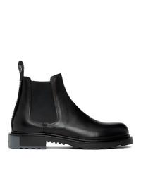 Valentino Black Garavani Beatle Chelsea Boot
