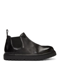 Marsèll Black Gomme Pallottola Pomice 352p Chelsea Boots