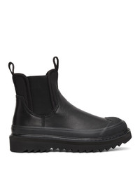 Diesel Black H Shiroki Ch Chelsea Boots
