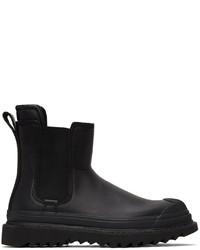 Diesel Black H Shiroki Che Chelsea Boots
