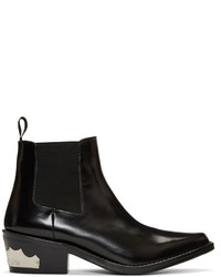 Black harness chelsea boots medium 1250064