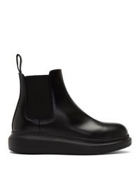 Alexander McQueen Black Hybrid Chelsea Boots