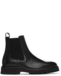 Kenzo Black K Mount Chelsea Boots