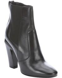 Fendi Black Leather Chelsea Booties