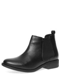 Dorothy Perkins Black Leather Chelsea Boots