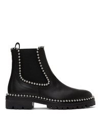 Alexander Wang Black Leather Spencer Boots