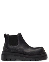 Bottega Veneta Black Low The Tire Boots