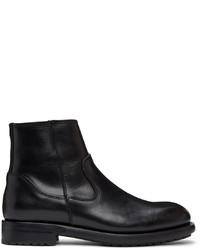Belstaff Black Markham Chelsea Boots