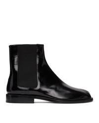 Maison Margiela Black Tabi Chelsea Boots