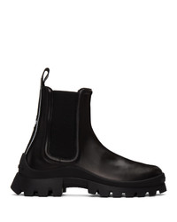 DSQUARED2 Black Tape Chelsea Boots