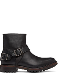 Belstaff Black Trialmaster Chelsea Boots