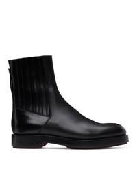 Ermenegildo Zegna Black Udine Boots