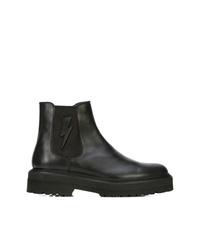 Neil Barrett Bolt Chelsea Boots