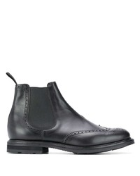 Church's Brogue Detailed Chelsea Boots