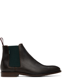 Ps By Paul Smith Brown Gerald Chelsea Boots