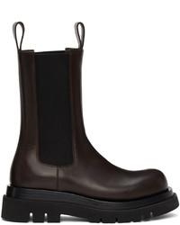 Bottega Veneta Brown Medium The Lug Chelsea Boots