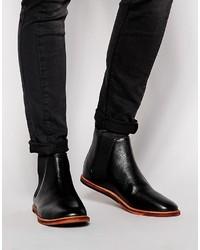 17f9af339543 Men s Black Chelsea Boots by Frank Wright