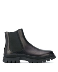 Neil Barrett Calf Leather Slip On Boots
