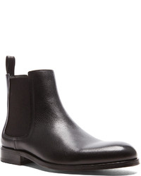 Lanvin Calfskin Leather Chelsea Boots