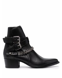 Amiri Chain Detail Ankle Boots